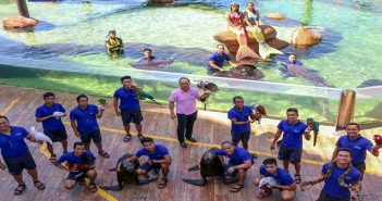 Manila Ocean Park in the Philippines