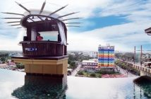Aqua Beach Club in Angeles City, Philippines